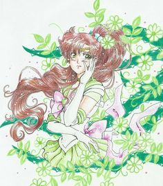 Sailor Jupiter, Sailor Moon Usagi, Sailor Venus, Sailor Moon Crafts, Manga, Character Art, Character Design, Makoto, Moon Illustration