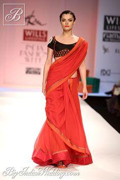Ekru Wills Lifestyle India Fashion Week 2013   Lehengas & Sarees   Bigindianwedding