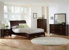 Starling Dark Cherry Wood Master Bedroom Set