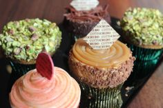 We have got a great selection of CupCakes in CottoCrudo!