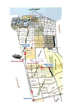 University of Sharjah Community College Campus Map