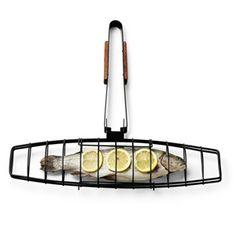Our Favorite Grilling Tools | Fish Grilling Basket | CoastalLiving.com