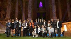 Emoción y reivindicaciones en los Premios Ceres 2013-La entrega de los galardones cierra el Festival Internacional de Teatro Clásico de Mérida