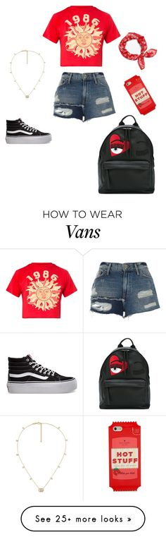 """OpenedSince..."" by lovekayleer on Polyvore featuring River Island, Vans, Chiara Ferragni, Kate Spade, rag & bone and Gucci"
