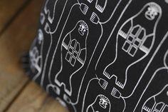 Aapiste - Design by Riikka Kaartilanmäki Textiles, Traditional, Seal, Prints, Cushion, Design, Collection, Pillows