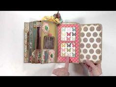 Vertical Paper Bag Mini Album Series - Final Review