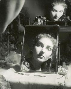 Maria Callas. 1950