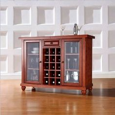 => Click picture to online Crosley Cambridge Sliding Top Bar Cabinet shopping at Amazon.ca