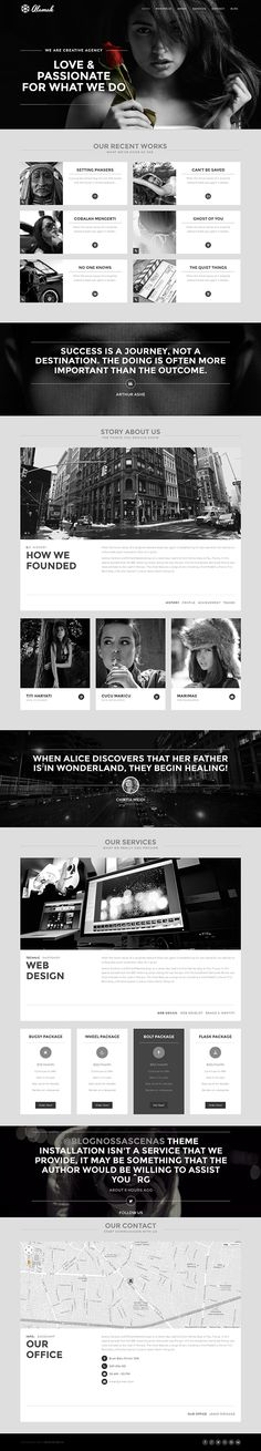 Alamak is responsive one page HTML5 WordPress Theme with clean and elegant design.It can be used for creative digital agent to show portfolio and selling services. Its build based on twitter bootstrap ,so it has powerfull features.