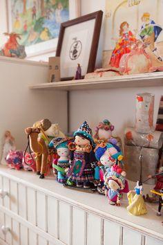 Alma and Nogah's bedroom in Jerusalem, featured on the Sleepykins home decor interior design series on the Babiekins Magazine blog
