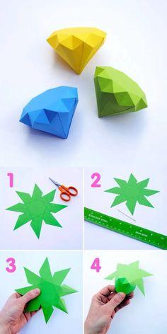 折纸-钻石...来自杯中猫o的图片分享-堆糖