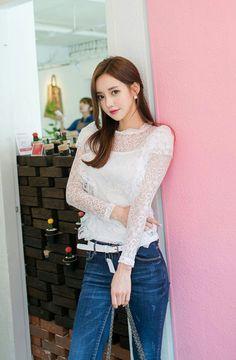もっと見たい!韓国モデル孙允珠(Son Youn Ju)の可愛い画像