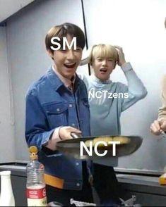 czennies we attack at dawn K Meme, Funny Kpop Memes, J Pop, Winwin, Taeyong, Jaehyun, Nct 127, Meme Faces, Funny Faces