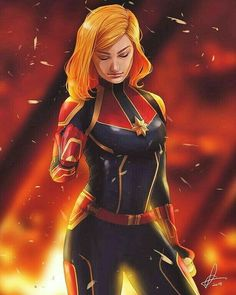 Drawing Marvel Comics Remember back then when I used to post Fanarts? Good old times. I really like this MCU captain Marvel art by Erenink - Marvel Avengers, Marvel Comics, Marvel Girls, Marvel Heroes, Marvel Women, Super Marvel, Marvel Universe, Marvel Fanart, Miss Marvel