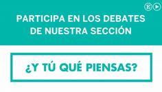 Grábate y participa en los debates de EL PAÍS Opinión