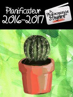 La Photocopieuse du Stagiaire: Planificateur 2016-2017