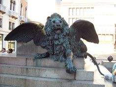 Winged Lion in Venice 3