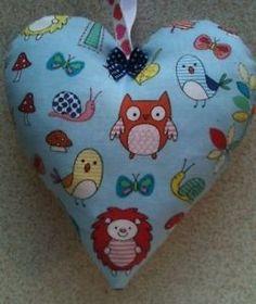 Owl-Fabric-Lavender-Bag-Handmade