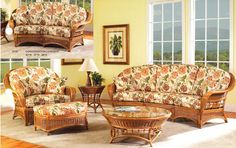 PAGE 5 | Rattan Sunroom Furniture | Wicker Living Room | Rattan Sofa | Wicker Table | Rattan and Wicker Chair