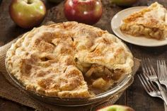 American Apple Pie (Amerikanischer Apfelkuchen) - daskochrezept.de (American Sweet Recipes)