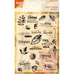 Joy! Clear Stamps Autumn