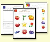 tons of free printable preschool and kindergarten worksheets {letters, numbers, matching, phonics, patterns, etc}