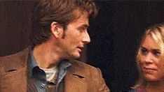 """""""Sir Doctor.""""  """"Dame Rose."""" LOVE this deleted scene!!!!!"""