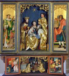 Hans Suees von Kulmbach, Holy 3 Kings altar, Wendelstein