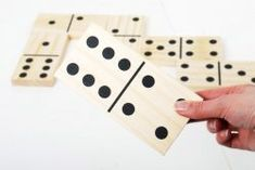 Giant Wooden Dominoes (Pack of 28)