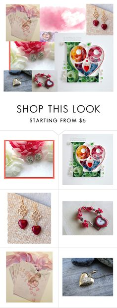 """Valentines 2"" by elewmompittseh ❤ liked on Polyvore featuring etsyfru"