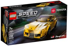 Toyota, Construction Lego, Lego Speed Champions, Safety Helmet, High Performance Cars, Lego News, High Energy, Building Toys, Courses