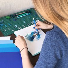 icu ~ Pin on Paper Art ✂ ~ Winter paper art. 3d Paper Art, Paper Artwork, Diy Paper, Paper Crafts, Paper Cutting Art, Kirigami, Paper Illustration, Quilling Designs, Paper Quilling