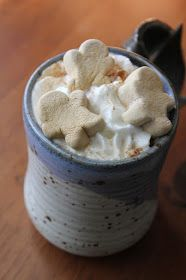 Creating Through Life: Crock-Pot Hot Chocolate. Without the gingerbread marshmellows tho