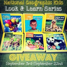 National Geographic Kids Look & Learn Book Series Giveaway - Woman of Many Roles