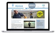rijnland website design by daily milk