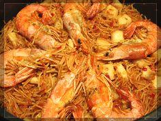 #Fideuà a mi manera #recipe in #spanish