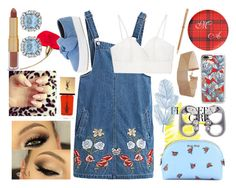 """""""Overall Flag"""" by galaxy-moon-stars ❤ liked on Polyvore featuring Dolce&Gabbana, Chicnova Fashion, Rebecca Minkoff, Yves Saint Laurent, Casetify, Miu Miu, tarte, Chopard, Marc Jacobs and Allcultures"""