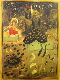 The Month of Sravan. Kotah, Rajasthan, ca. 1750