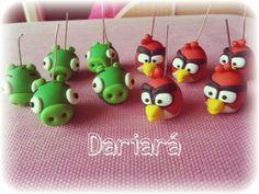 Fimo Angry birds by dariarà polymer clay