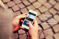 iPhone 5s Mockups on Behance