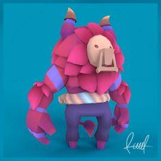 "Echa un vistazo a mi proyecto @Behance: ""Almost A Hero Enemy. 3D Model Color.Raul®"" https://www.behance.net/gallery/60755275/Almost-A-Hero-Enemy-3D-Model-ColorRaul"