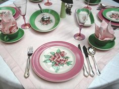 Panoply: Greenbrier Resort China Tablescape