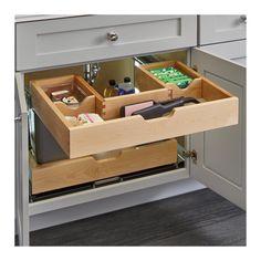 rev a shelf kitchen drawers Laundry Room Storage, Kitchen Storage, Küchen Design, Home Design, Interior Design, Diy Interior, Design Styles, Design Ideas, Coastal Interior