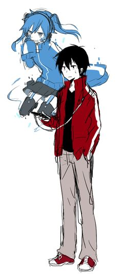 Ene & Shintaro | Kagerou Project
