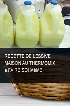 Recette de lessive maison au Thermomix à faire soi même #Maison #Recette #Faire #Lessive #Thermomix
