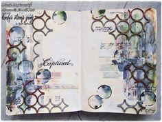 Art Journal Inspiration | Lindy's Stamp Gang