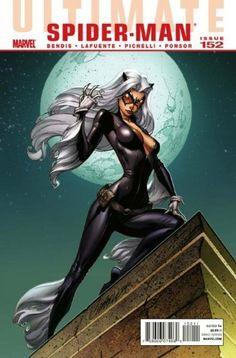 "Ultimate Comics Spider-man #152 ""The Black Cat Appearance"" by BENDIS, http://www.amazon.com/dp/B0058P13B2/ref=cm_sw_r_pi_dp_2wXZqb0EJ05E9"