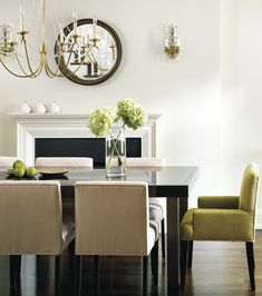 Dining room. One of the few contemporary ones I can see myself living in.