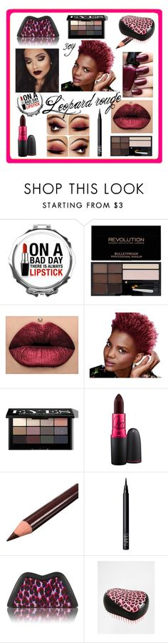 """""""Leopard rouge"""" by tr3cy ❤ liked on Polyvore featuring beauty, Bobbi Brown Cosmetics, OPI, MAC Cosmetics, NARS Cosmetics, Feather.M and Tangle Teezer"""