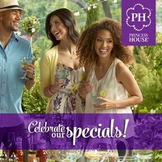 Did you see all the Hostess Specials we have available? Get your party going and enjoy the discounts just for you! Call your #PrincessHouse Consultant today!